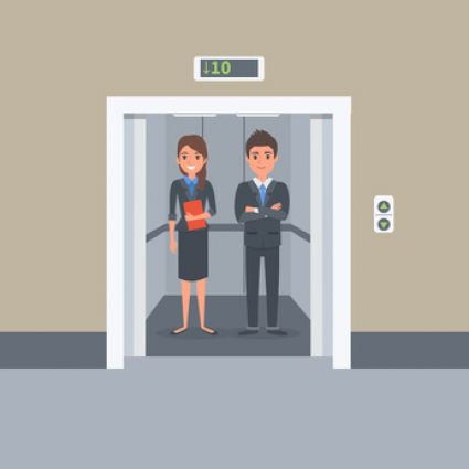 Blog: Talk in an Elevator Day
